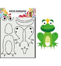 470.713.875 - Card Art Built up Kikker - Dutch Doobadoo