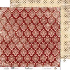 SM12489 Scrappapier dubbelzijdig - Vintage Ornament - Inkido