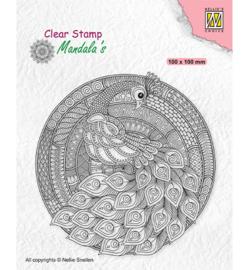 CSMAN004 Clearstempel 10x10cm - Nellie Snellen