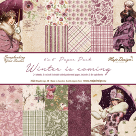 Paperpad 15,2 x 15,2 cm -  Winter is Coming - Maja Design