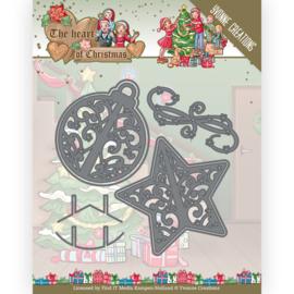 YCD10254 Snij- en embosmal  - The Heart of Christmas - Yvonne Creations