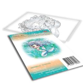 PD7838 Polkadoodles stamp Meribelle - Floating