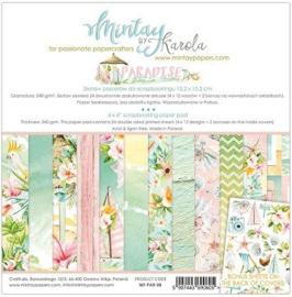 Paperpad 15x15cm - Paradise - Mintay
