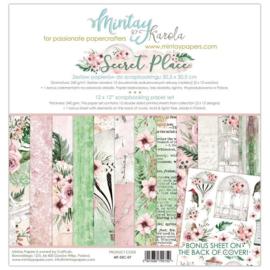 Paperpad 30.5 x 30.5cm - Secret Place - Mintay - PAKKETPOST!