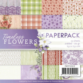 PMPP10018 Paperpad -  Timeless Flowers - Marieke Design