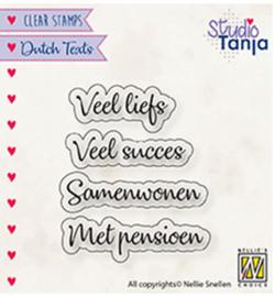 DTCS024 Tekststempel NL - Nellie Snellen