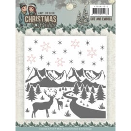 ADEMB10010  Embosmal - Christmas Wishes - Amy Design