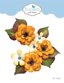 1874 Snijmal  Florals 13 - Elizabeth Craft