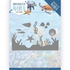 ADD10211 Snij- en embosmal - Under Water World - Amy Design
