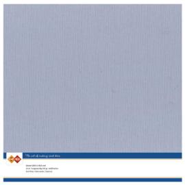 52 Oud Blauw - Linnen Kaarten 30,5 x 30,5cm - 10 stuks - 200 grams - Card Deco - PAKKETPOST!!