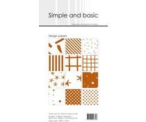 SBP910 Slim Paperpack 21x10cm - 24 stuks - Simple and Basic