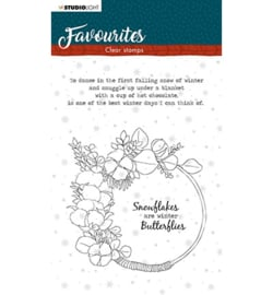 STAMPSL506 Clearstempel - Winter's Favourites - Studio Light