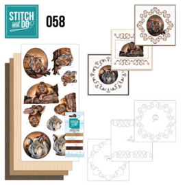 Stitch en Do nr. 58 - Wild Animals
