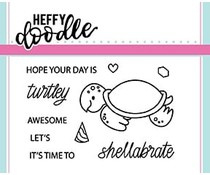 HFD0064 Shellabrate Clearstamp - Heffy Doodle