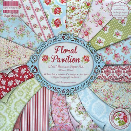 Paperpad 20 x 20cm - 48 vel - Floral Pavilion - First Edition