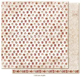 1120 Scrappapier dubbelzijdig - Traditonal Christmas - Maja Design
