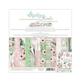 Paperpad 15.2 x 15.2cm - Secret Place - Mintay