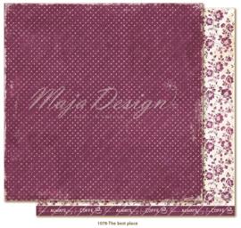 1078 Scrappapier dubbelzijdig - Little Street Café - Maja Design