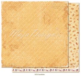 1073 Scrappapier dubbelzijdig - Little Street Café - Maja Design
