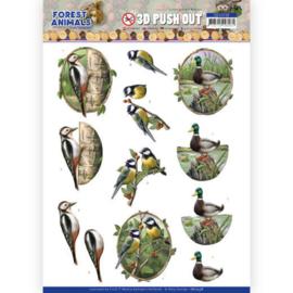 SB10538 Stansvel 3D vel A4 - Forest Animals - Amy Design