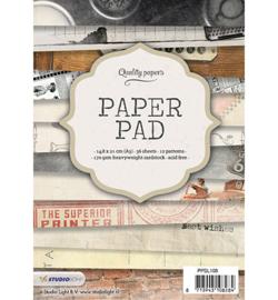 PPSL108 Paperpad A5 - Studio Light