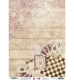 BASISJMA06 Dubbelzijdig A4 papier - Jenine's Mindfull serie 3 - Studio Light