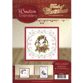 CB10015 Creative Embrodery - Touch of Christmas - Marieke Design
