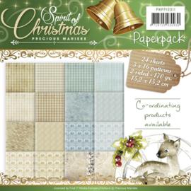 PMPP10011 Paperpad - Spirit of Christmas - Marieke Design
