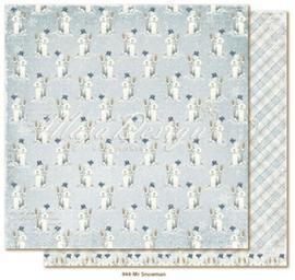 944 Scrappapier dubbelzijdig - Joyous Winterdays - Maja Design