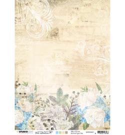 BASISJMA01 Achtergrondpapier A4 dubbelzijdig - Jenine's Mindful Art - Studio Light
