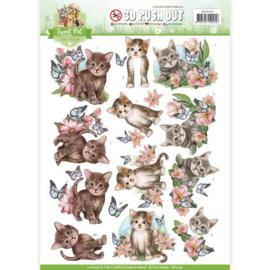 SB10196 Uitdrukvel A4 - Sweet Pets - Amy Design