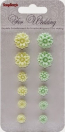 SCB250001090 Resin Flowers
