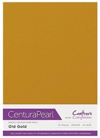 Old Gold - Glanskarton A4 310 grams - 10 vel - Centura Pearl