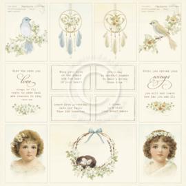 PD1624 Scrappapier - The Songbirds Secrets - Pion Design