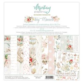 Paperpad 30.5x30.5cm - Tiny Miracle - Mintay * PAKKETPOST *