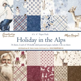 Paperpad 15.2 x 15.2 cm  Holiday in the Alps - Maja Design