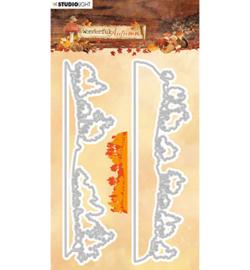 STENCILWA311 Snij- en embos stencil - Wonderful Autumn - Studio Light