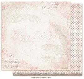 1154 Scrappapier dubbelzijdig -  Tropicial Garden - Maja Design