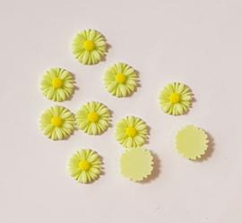 Acryl Flowers Margriet - 10 stuks - Mint