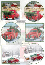 JDN162 Vintage vel A4 Natuur - Jellie Design