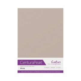 Mink - Glanskarton A4 310 grams - 10 vel - Centura Pearl
