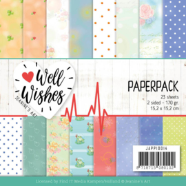 JAPP10014 Paperpad - Well Wishes - Jeanine's Art