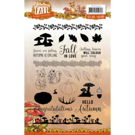 YCCS10041 Cleastempel - Fabulous Fall - Yvonne Creations