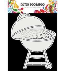 470.784.028 - Card Art A5 Barbeque - Dutch Doobadoo