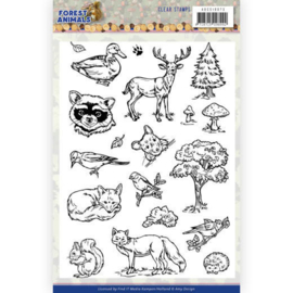 ADCS10073 Clearstempel - Forest Animals - Amy Design