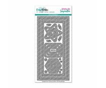 CarlijnDesign Snijmallen DL Slimline Kaart 2 CDSN-0058
