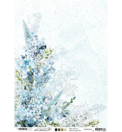 BASISJMA04 Achtergrondpapier A4 dubbelzijdig - Jenine's Mindful Art - Studio Light