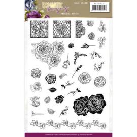 PMCS10047 Clearstempel - Romantic Roses - Marieke Design