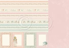 PD18011 Scrappapier dubbelzijdig - Life is Peachy - Pion Design
