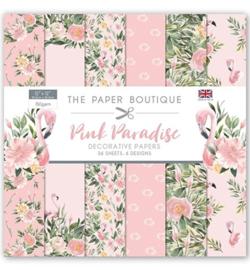 PB1105 Paperpad 30.5 x 30.5 cm Pink Paradise - The Paper Boutique   PAKKETPOST!